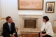 President Jahjaga received Governor Howard Dean